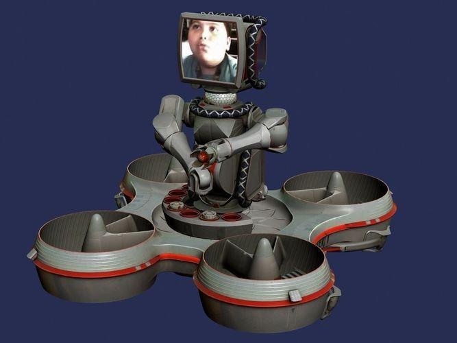 HoverBot TrackBot robot3D model