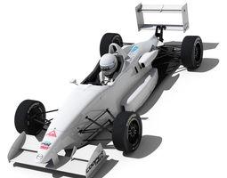 3d usf 2000 formula race car