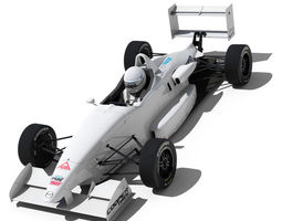 USF 2000 Formula Race Car 3D Model