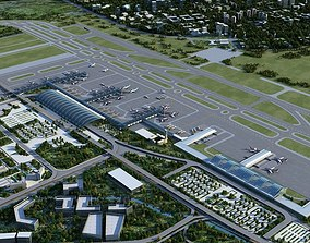 3D Airport Animated 01