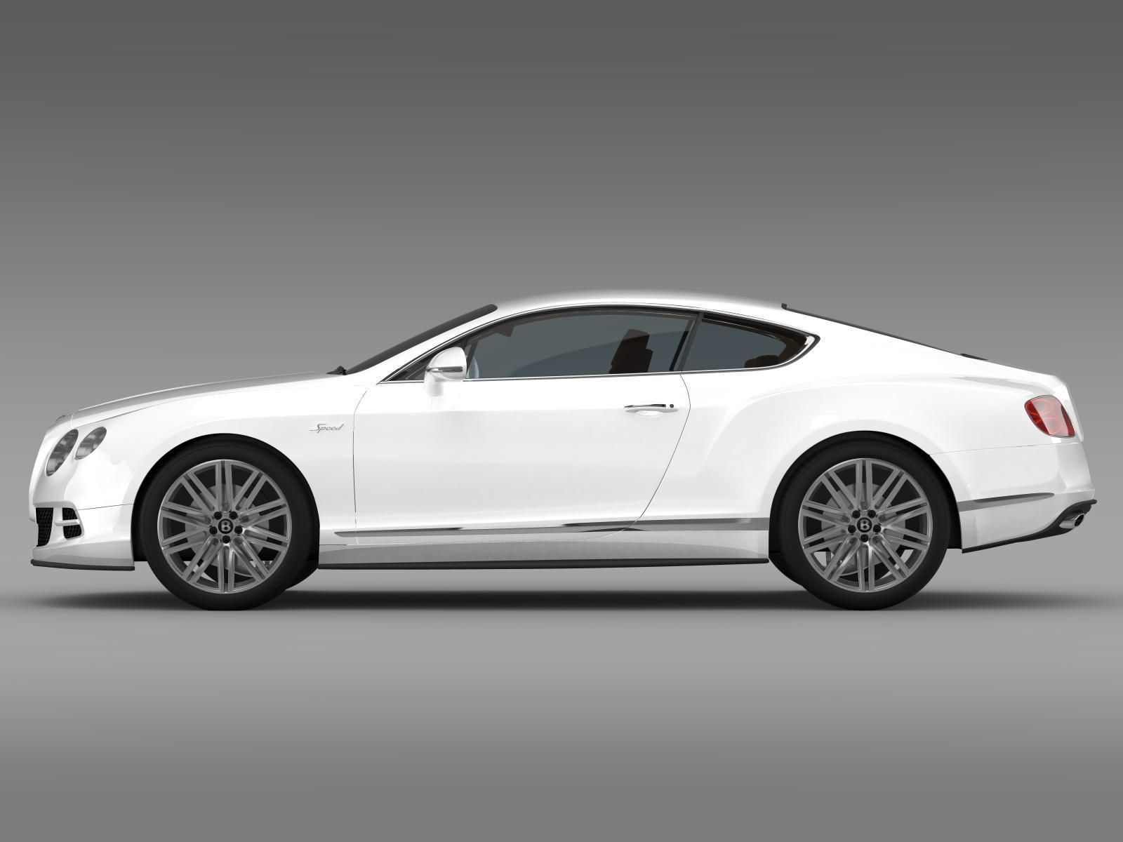 bentley continental gt speed 2014 3d model max obj 3ds fbx c4d lwo lw. Cars Review. Best American Auto & Cars Review