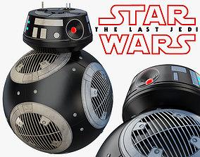 3D BB-9E Star Wars droid