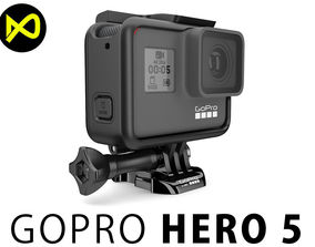 GoPro Hero 5 Set 3D model