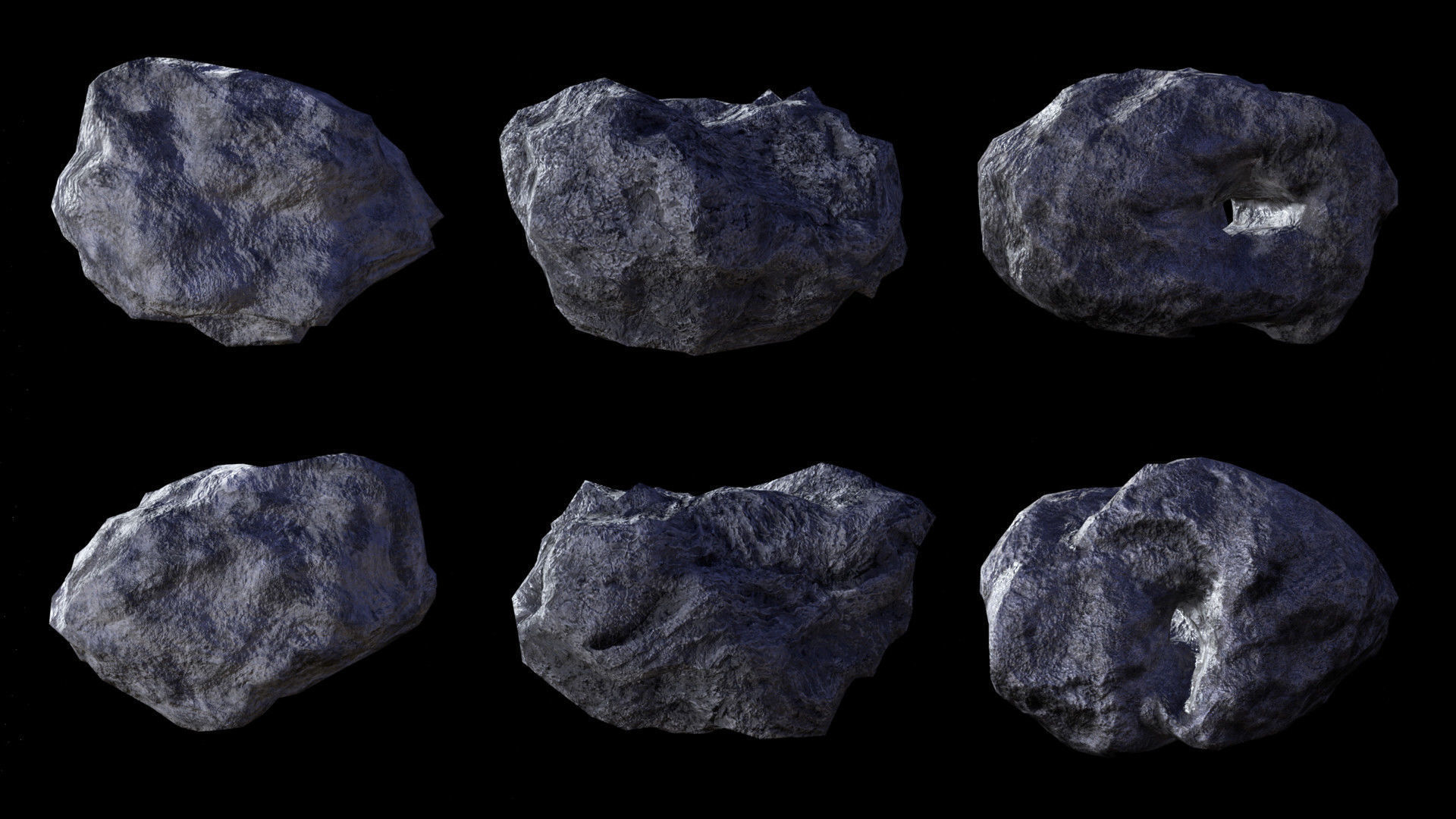 Asteroid pack 2