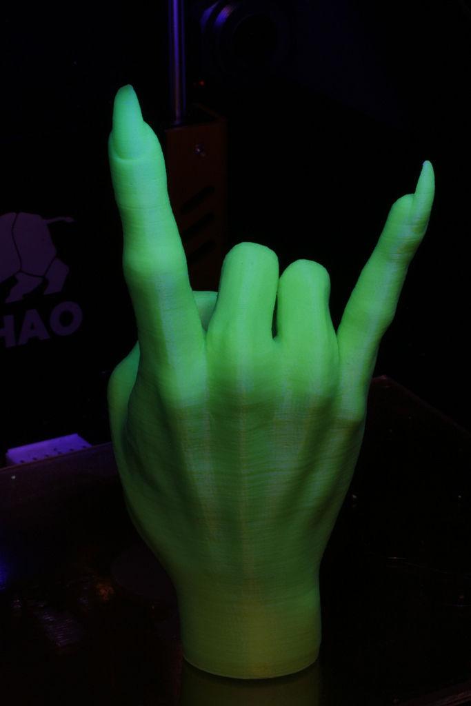 Devil Horns Gesture Witch Free 3d Model 3d Printable Stl