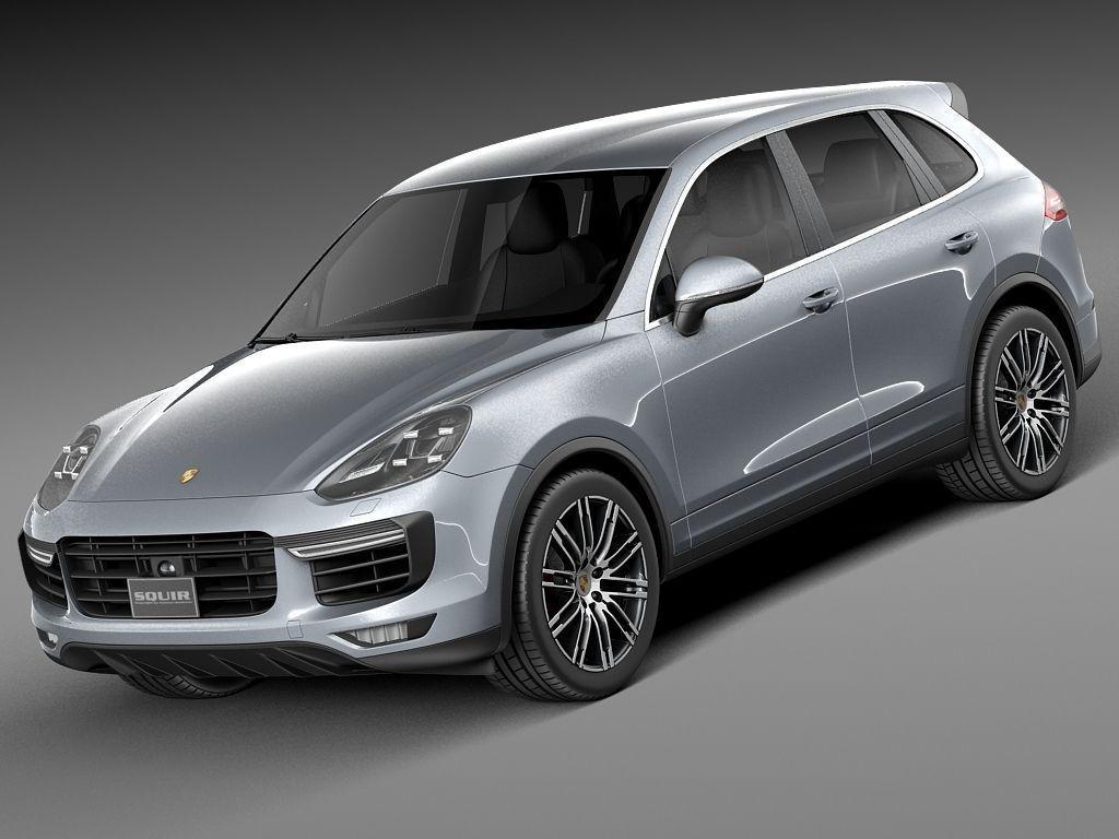 Porsche Cayenne Turbo 2015 3D Model .max .obj .3ds .fbx .c4d .lwo .lw .lws - CGTrader.com