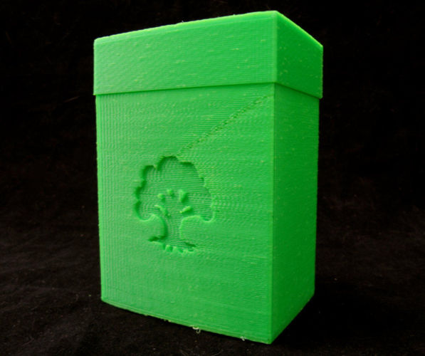 magic the gathering mana deck boxes free 3d model 3d printable  stl