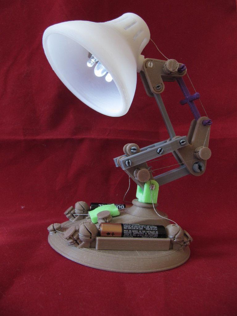 Led Desk Lamp Free 3d Model 3d Printable Stl Cgtrader Com