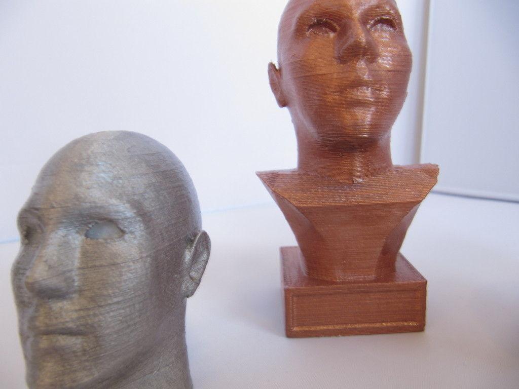 FaceGen Statue Template 3D print model | CGTrader
