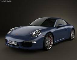 Porsche 911 Carrera S Coupe 2012 3D
