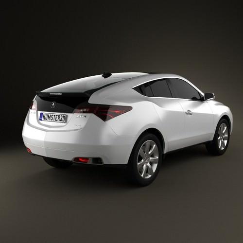 Acura Zdx Cgtrader