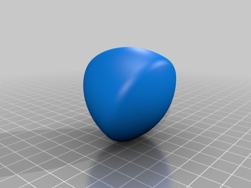 Solid object of constant width Reuleaux Tr... free 3D ...