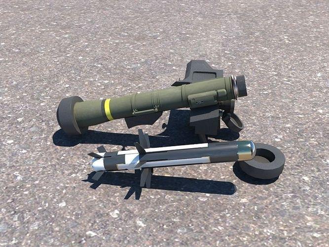 FGM 148 Javelin 3D Model Max