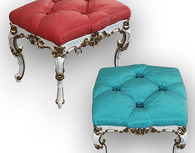 classic ottoman 3D