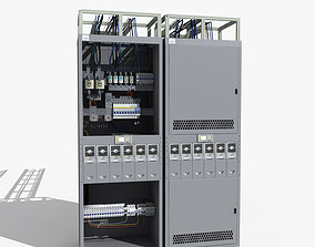 Telecom Power System 04 3D