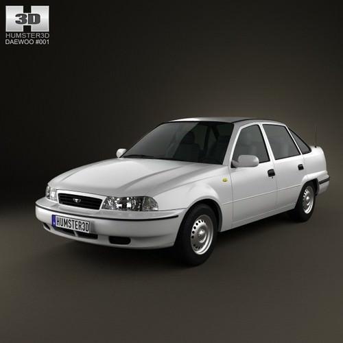 Daewoo Lemans Nexia Cielo Racer Sedan 1996 3d Models