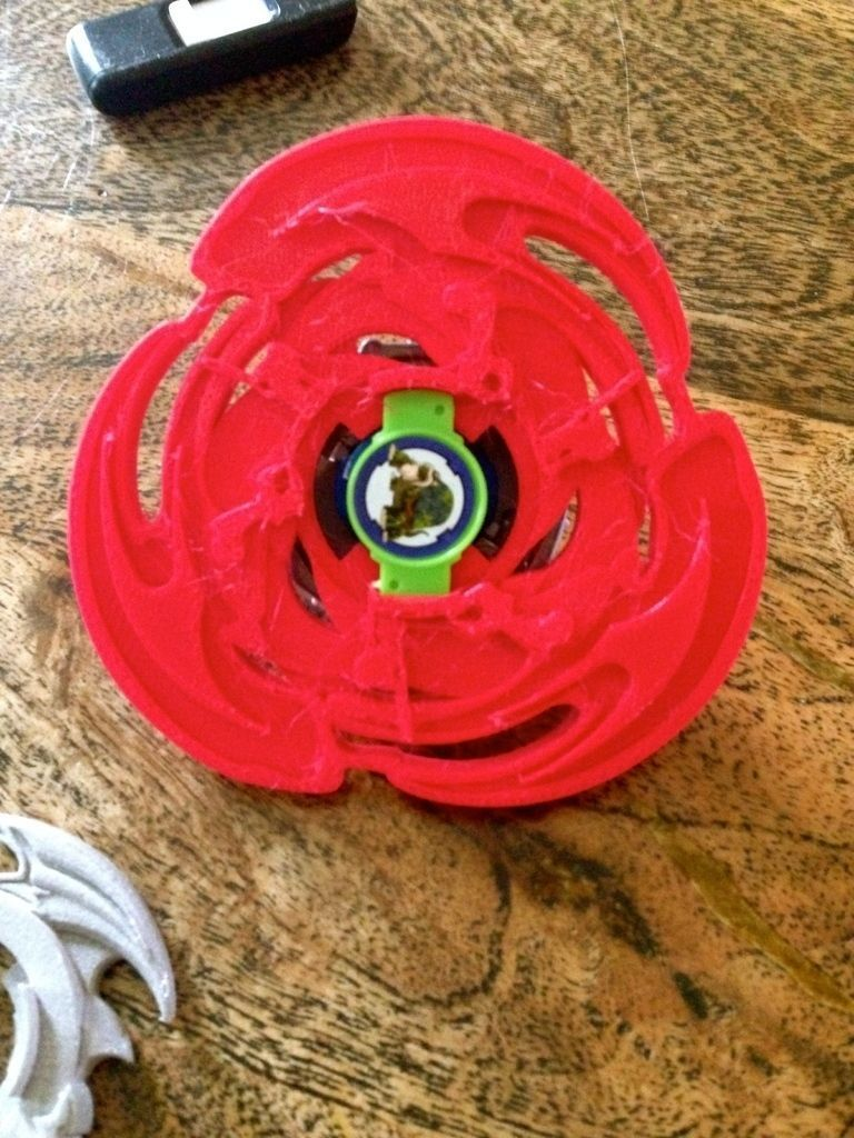 Charizard Beyblade 3x Attack Ring Free 3d Model 3d