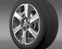 RangeRover Hybrid wheel 3D model