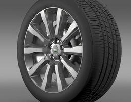 RangeRover Supercharged wheel 3D Model