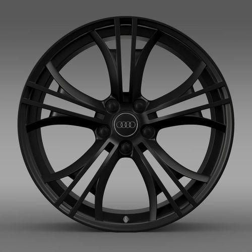 Audi R8 V10 plus 2013 rim3D model