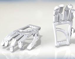 3D print model Animatronic hand