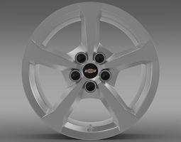 Chevrolet Camaro Convertible 2014 rim 3D Model