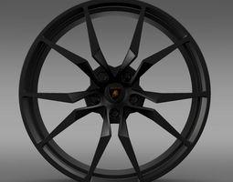 Lamborghini Aventador 50 AE rim 3D Model