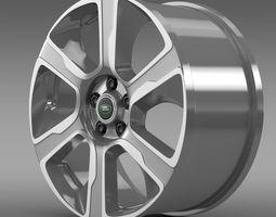 3D model RangeRover Hybrid rim
