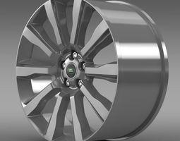 RangeRover Supercharged rim 3D Model