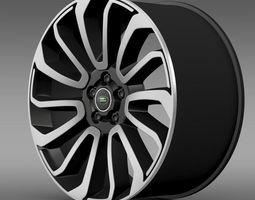 RangeRover V8 rim 3D Model