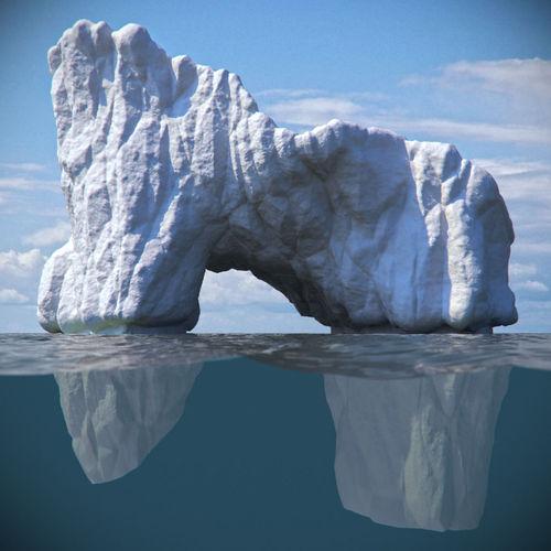 Iceberg 43D model