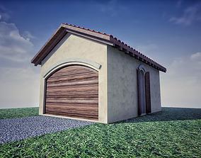 SHC Spanish Modern Garage 1 3D model