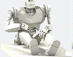 Iron giant 3D printable model