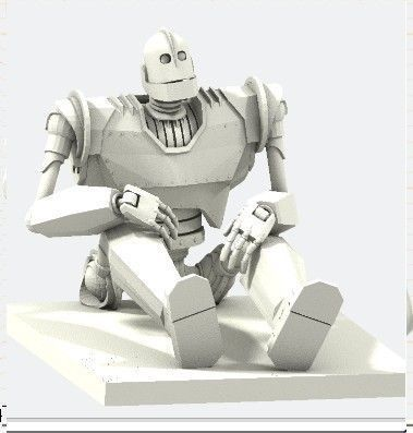Iron Giant 3d Model 3d Printable Obj Cgtrader Com