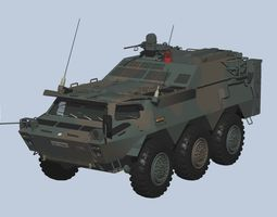 Japan Ground Self-Defense Force Chemical Protection 3D