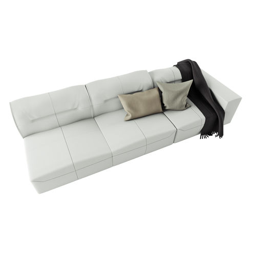 3d model boconcept hampton sofa in leather | cgtrader