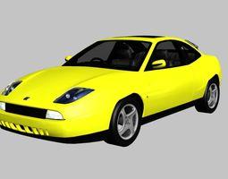 FIAT Coupe 20V Turbo 3D model