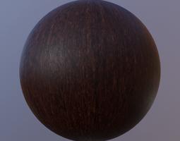 Wenge Wood Material 3D