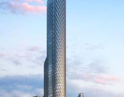 3d cityscape 001
