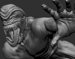 Skullcracker creature 3D printable model