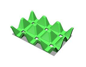 Fridge Egg Storage Rack 3D print model