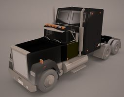 Delivery Trucks 3D model
