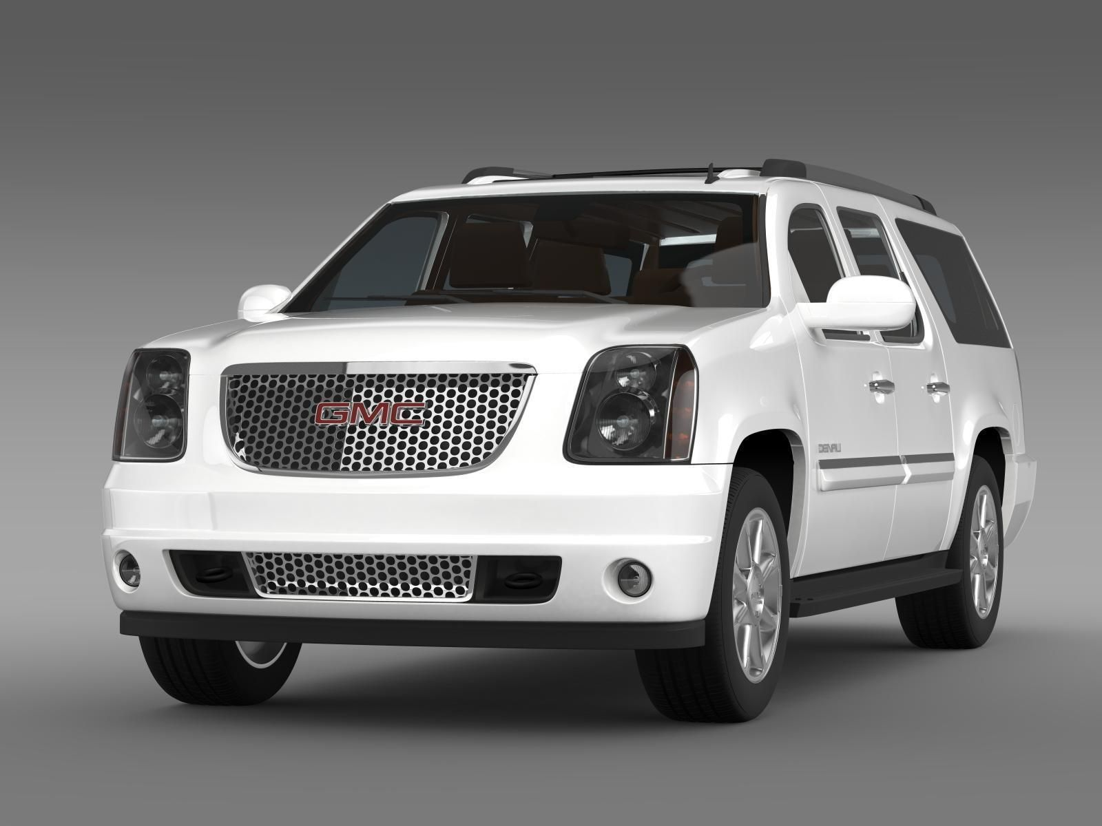 Line Art Xl 2011 : Gmc yukon xl denali flexfuel d model max obj