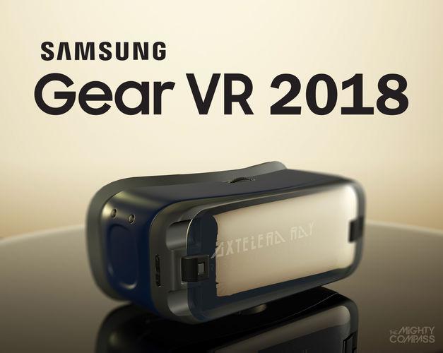 Ultramoderne 3D asset vr New Samsung Gear VR 2018 | CGTrader AH-28