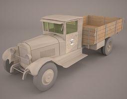 3D model ZIS 5 Cargo