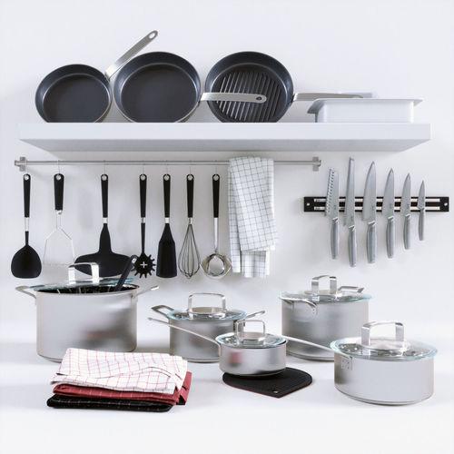 365 cookware collection 3d model max obj mtl fbx 1