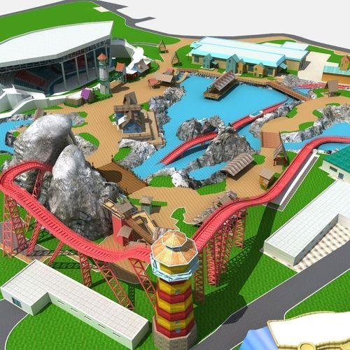 Amusement Park 023D model