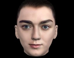 Arya Stark Game of Thrones 3D model