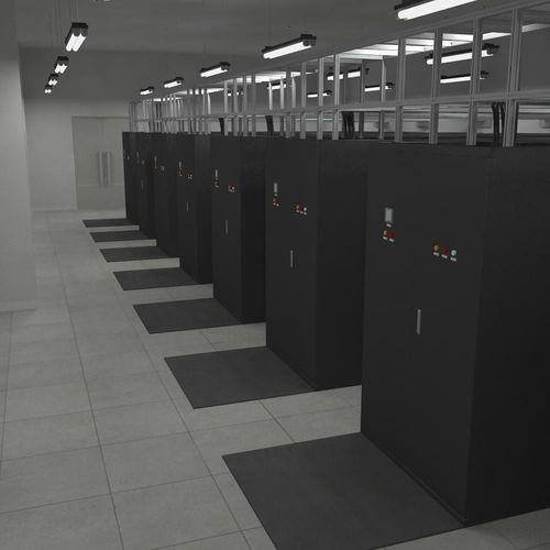 Internet Data Center Room3D model