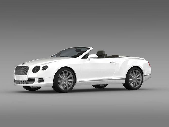 Bentley Continental GTC 20113D model